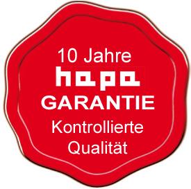 hapa Garantie