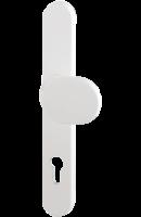 Knopfgarnitur weiß